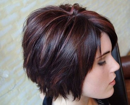 Featured Photo of Shaggy Pixie Haircuts In Red Hues
