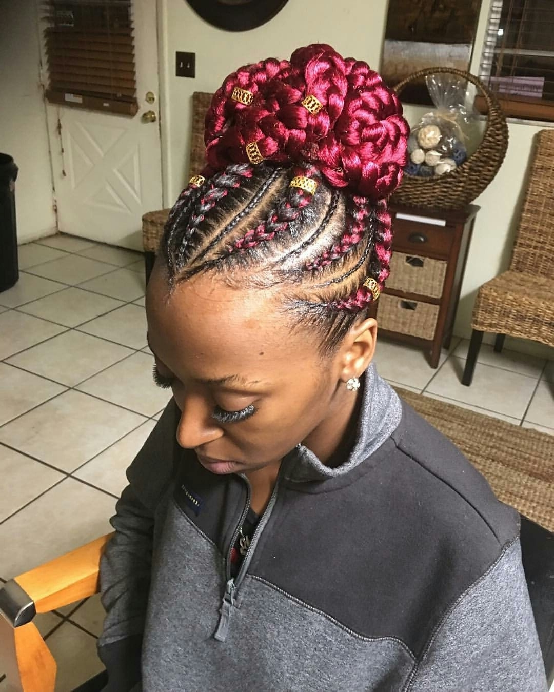 Pinterest In Most Recent Big Cornrows Hairstyles (View 12 of 15)