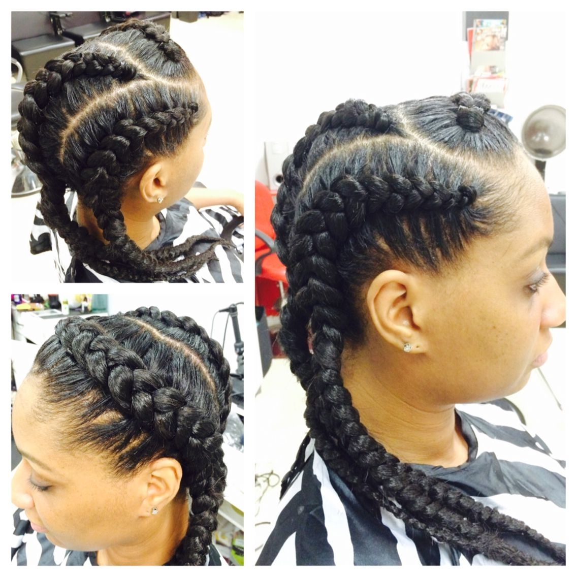 Featured Photo of Jumbo Cornrows Hairstyles