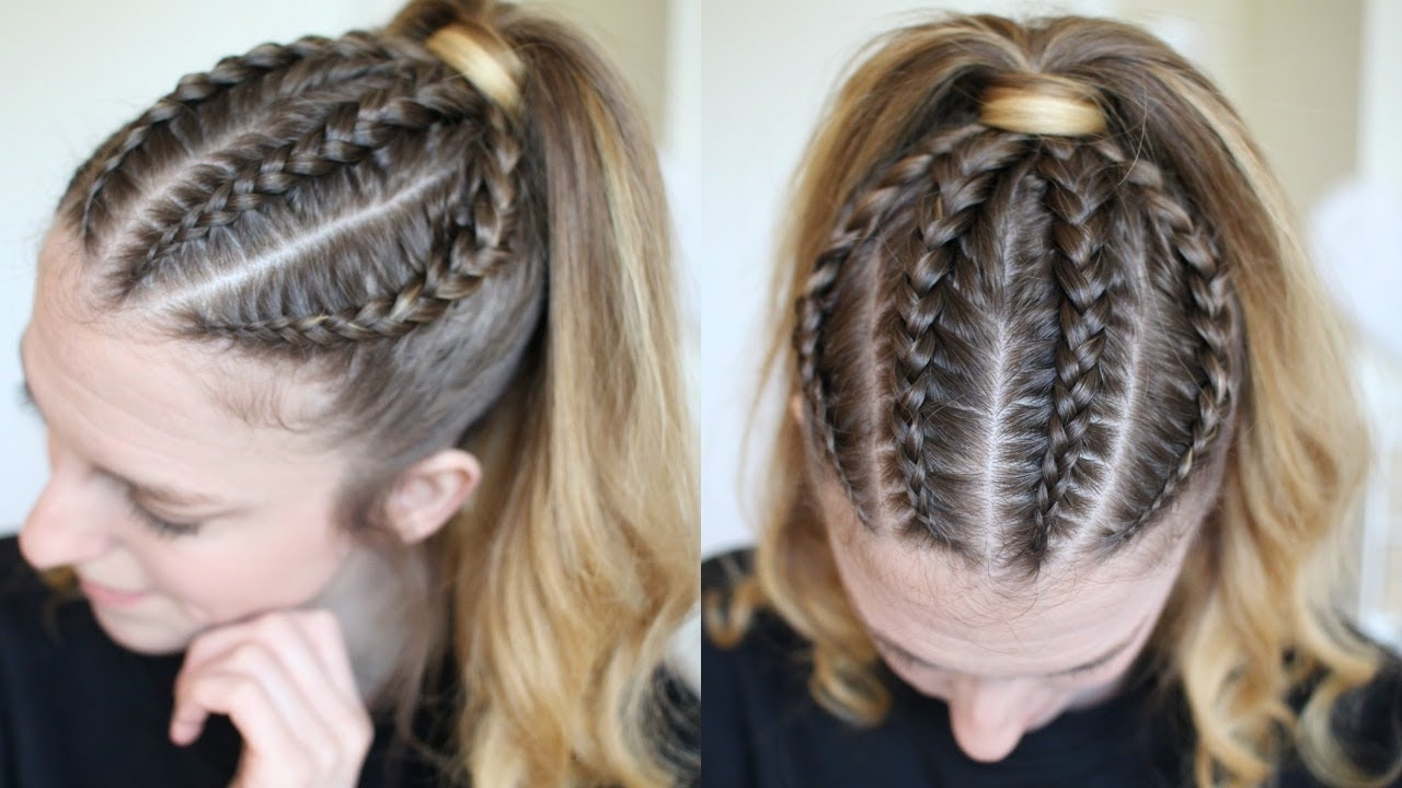 Pinterest Inspired Braided Ponytail (View 13 of 15)