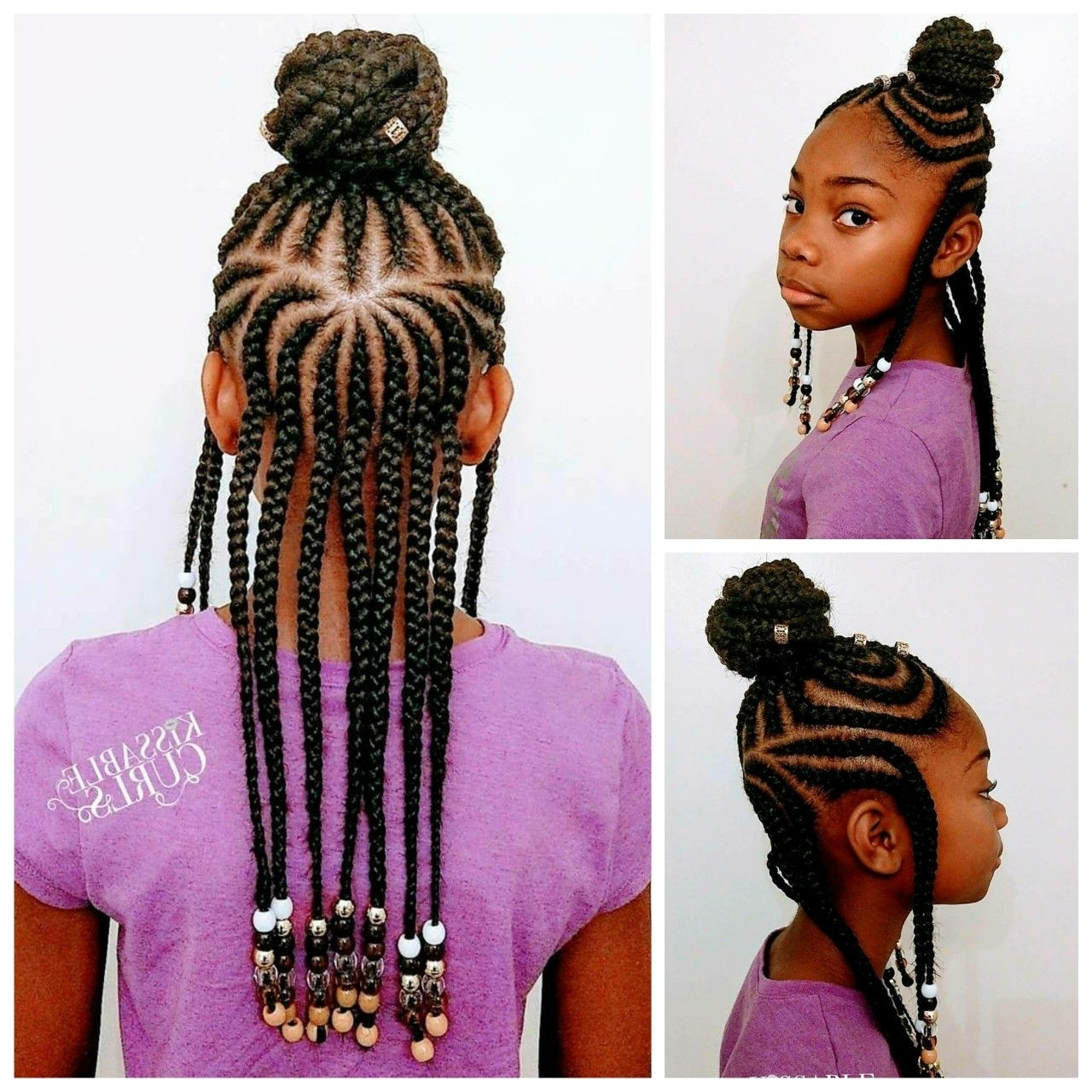 Pinterest With Regard To Most Up To Date Classic Fulani Braids With Massive Ivory Beads (View 3 of 15)