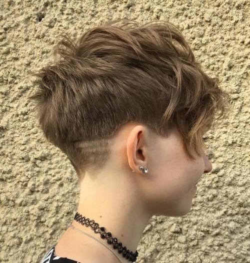 Pixie Cut For Latest Tapered Pixie With Maximum Volume (View 8 of 15)