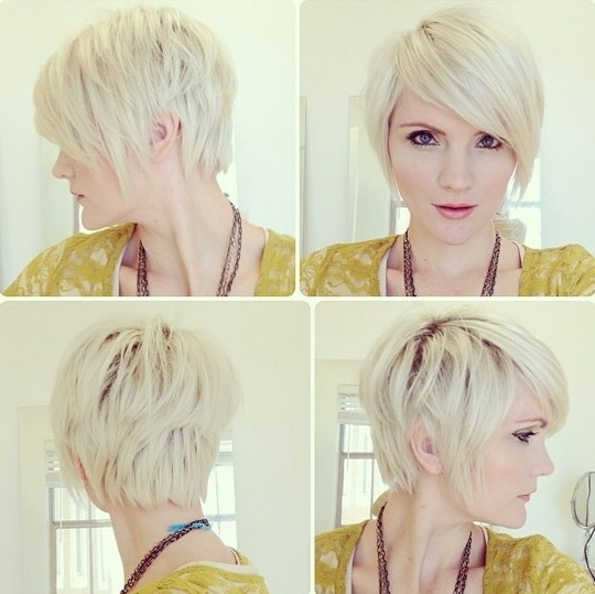 Pixie Haircut With Long Bangs – Popular Haircuts Intended For Well Liked Tapered Pixie Haircuts With Long Bangs (View 10 of 15)