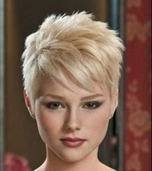 Featured Photo of Finely Chopped Pixie Haircuts For Thin Hair