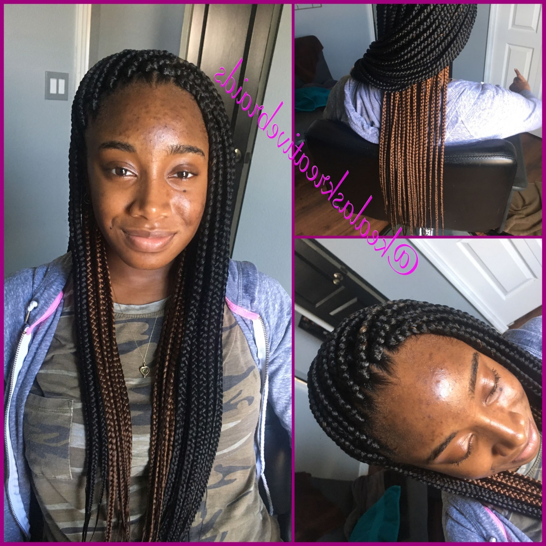 Poetic Justice Braids Hairstyles Inspirational Small Medium Box Within Best And Newest Poetic Justice Braids Hairstyles (View 10 of 15)