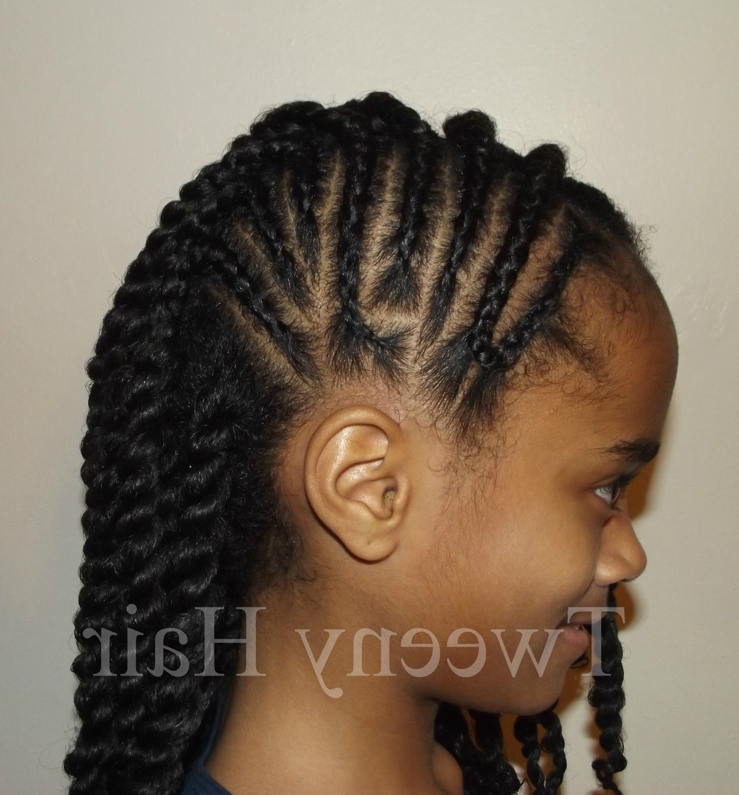 Ponytail Cornrow Hairstyles – Innoviustech Within Newest Side Ponytail Braids With A Twist (View 11 of 15)