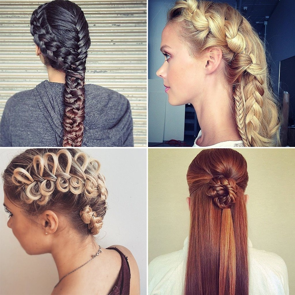 Popsugar Beauty With Regard To Current Simple Braided Hairstyles (View 6 of 15)