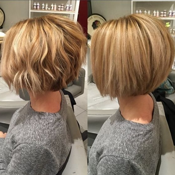Popular Balayage Pixie Haircuts With Tiered Layers Regarding 10 Winning Looks With Layered Bob Hairstyles: 2017 Short Hair Cuts (View 10 of 15)