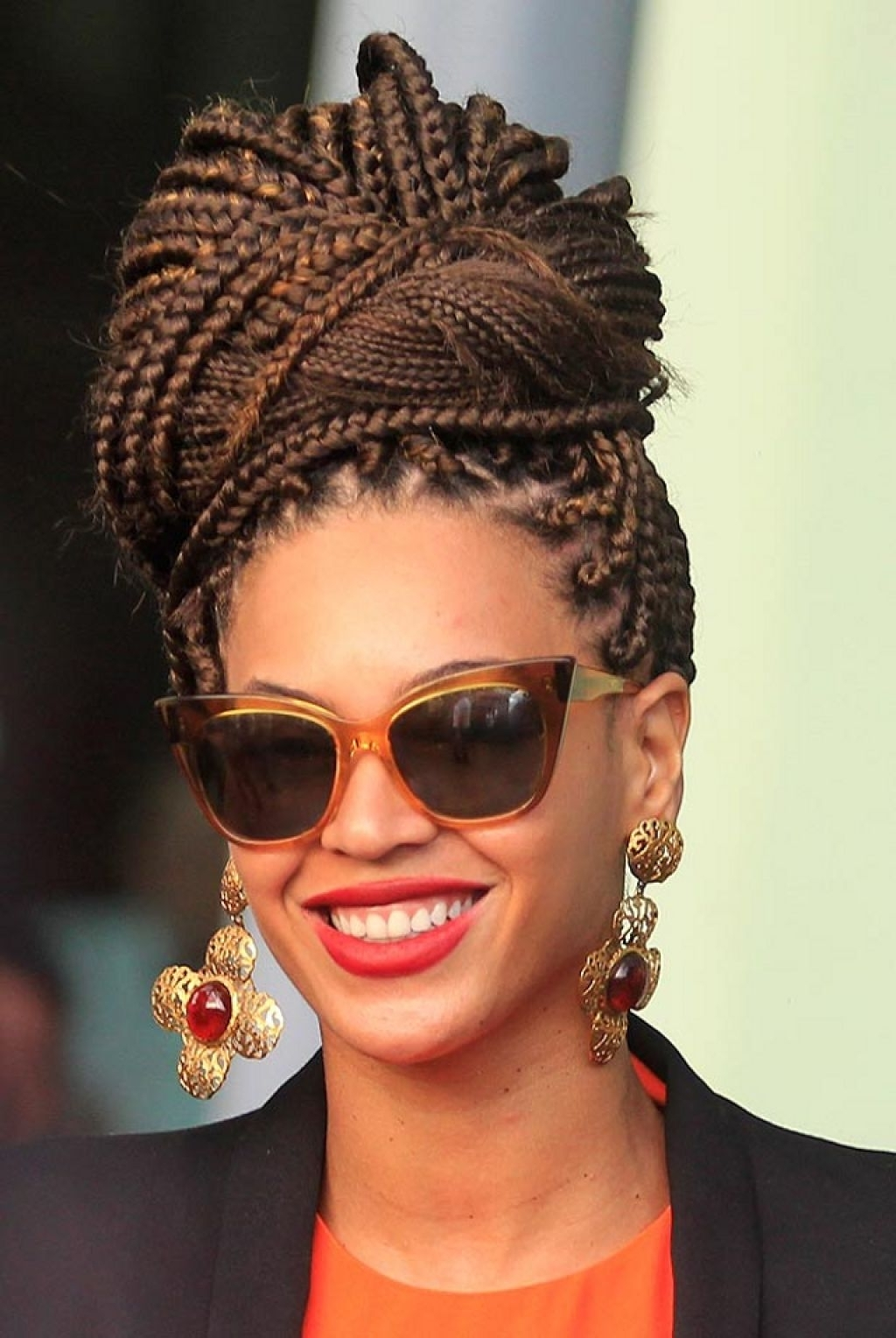 Popular Beyonce Cornrows Hairstyles With Regard To Beyonce Hairstyle – Complex Box Braided – Latest Hair Styles – Cute (View 15 of 15)