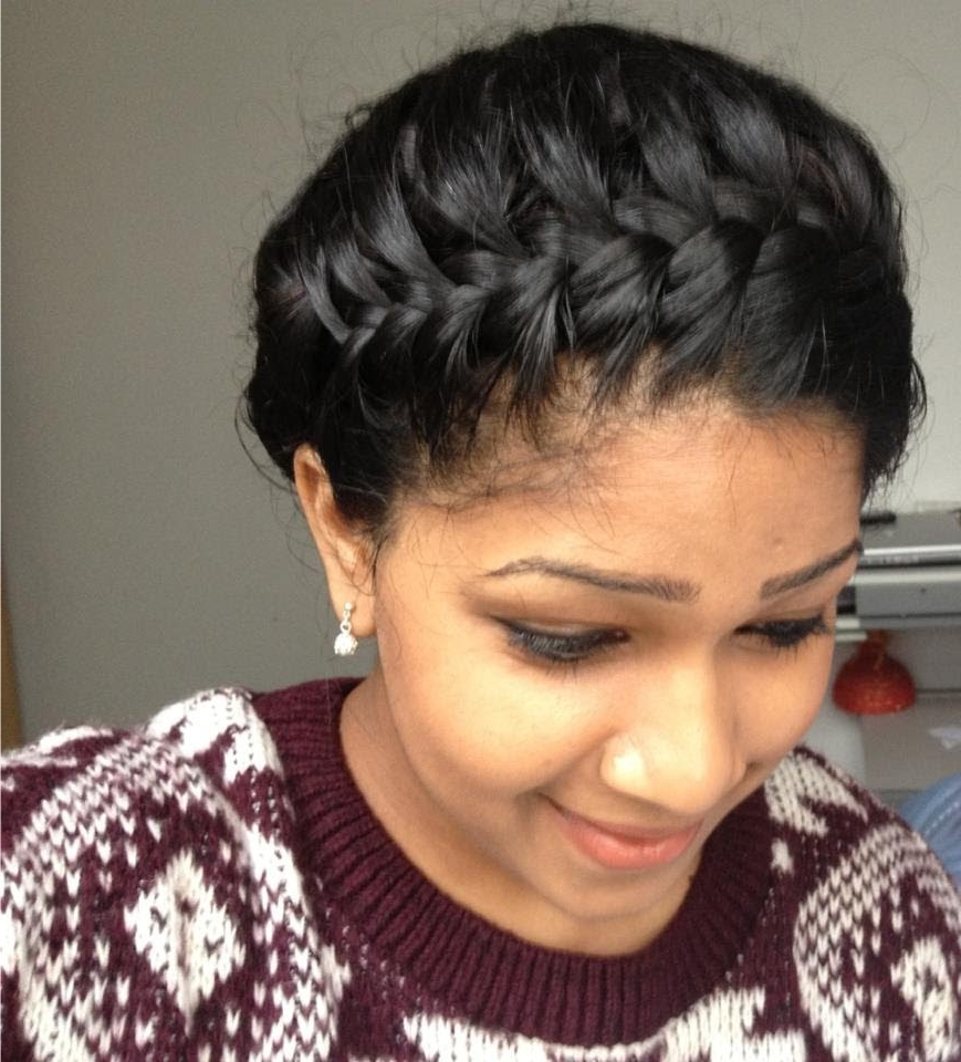 Popular Black Crown Braid Hairstyles For 24 Fabulous Braided Hairstyles For Black Girls 2018 Easy Of Crown (View 4 of 15)