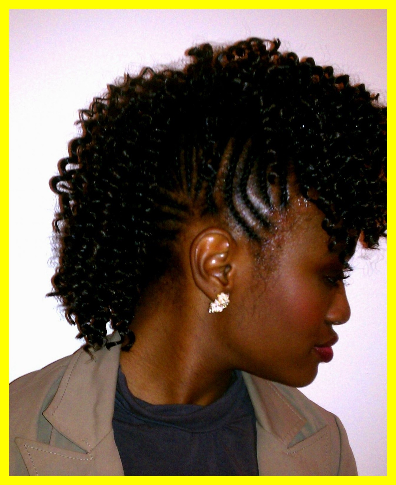 Popular Cornrow Mohawk Hairstyles Hair With Regard To Marvelous Mohawk Hairstyles With Ideas Of Cornrow Natural Hair Trend (View 11 of 15)