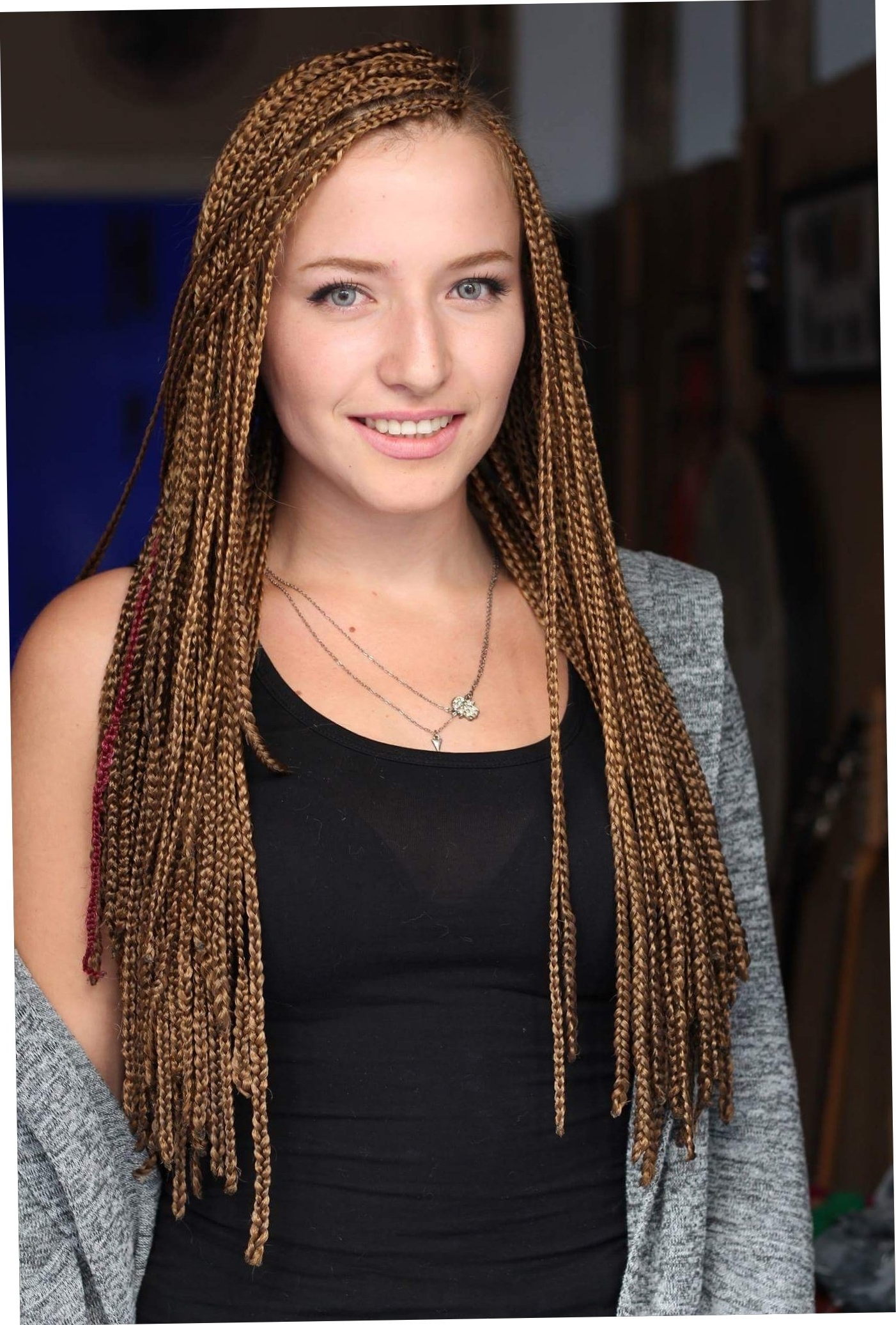 Popular Cornrows Hairstyles For White Girl In Cornrow Hairstyles For White Women With Short Hair Luxury Pin (View 9 of 15)