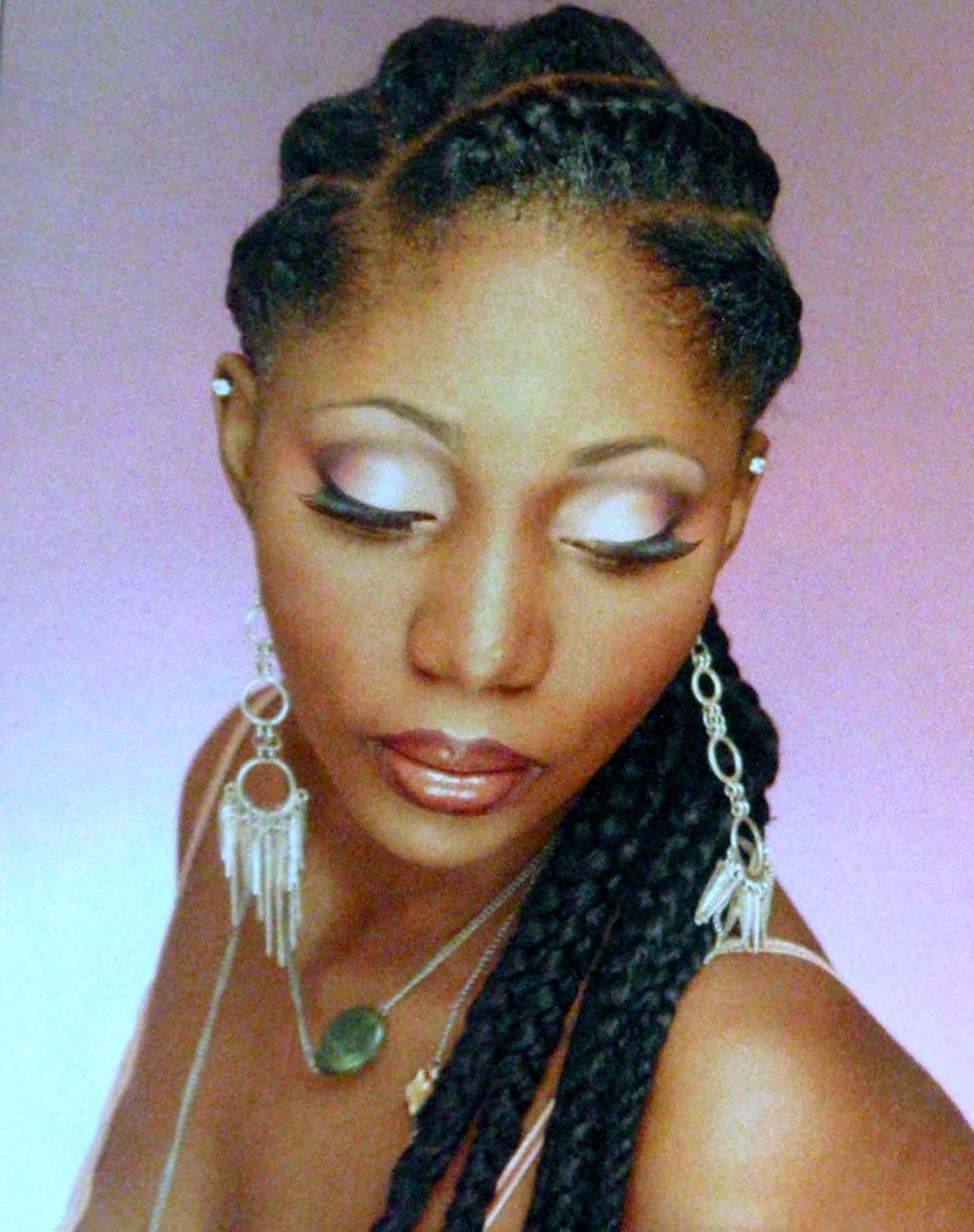 Popular Cornrows Prom Hairstyles Within Corn Rows Designs For Women (View 5 of 15)