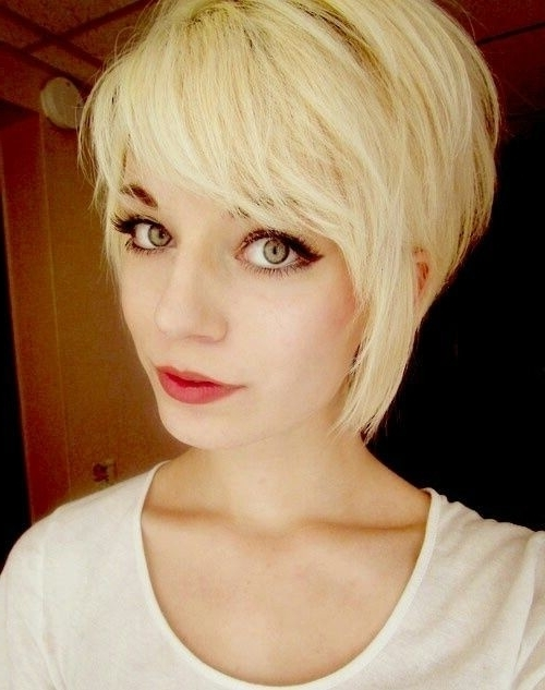 Popular Long Tapered Pixie Haircuts With Side Bangs In 15 Trendy Long Pixie Hairstyles – Popular Haircuts (View 11 of 15)