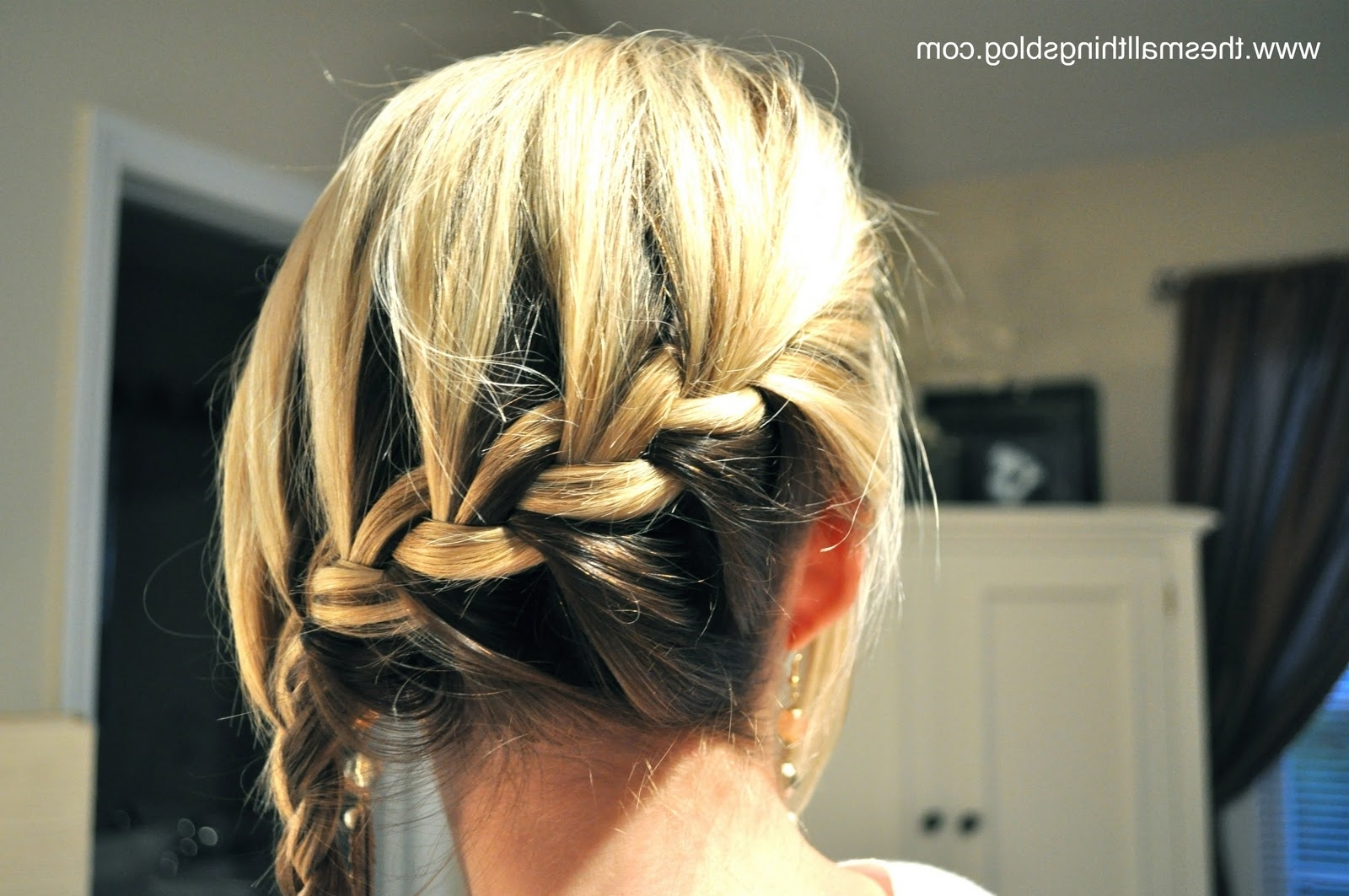 Popular Loose Side French Braid Hairstyles Throughout Wrap Around French Braid – The Small Things Blog (View 10 of 15)