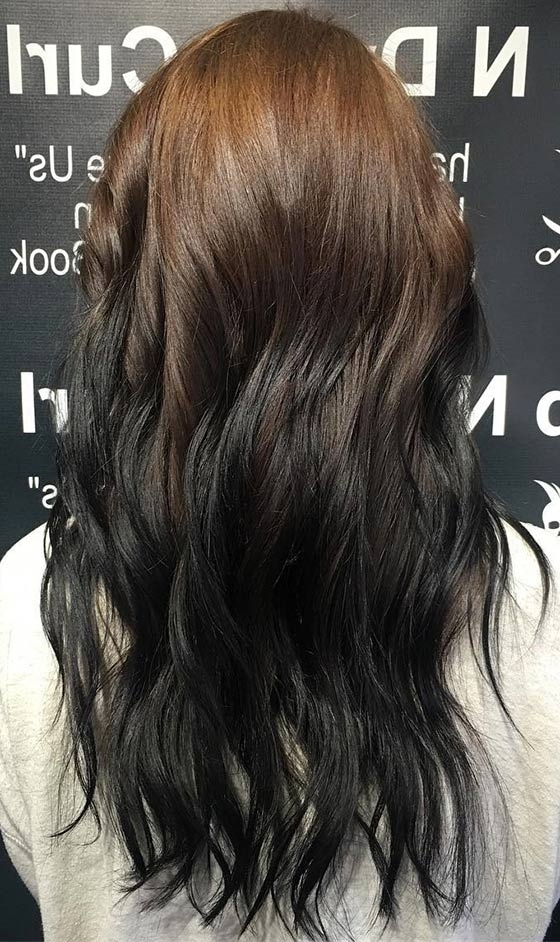 Popular Reverse Gray Ombre For Short Hair Intended For 40 Ombre Hair Color And Style Ideas (View 13 of 15)