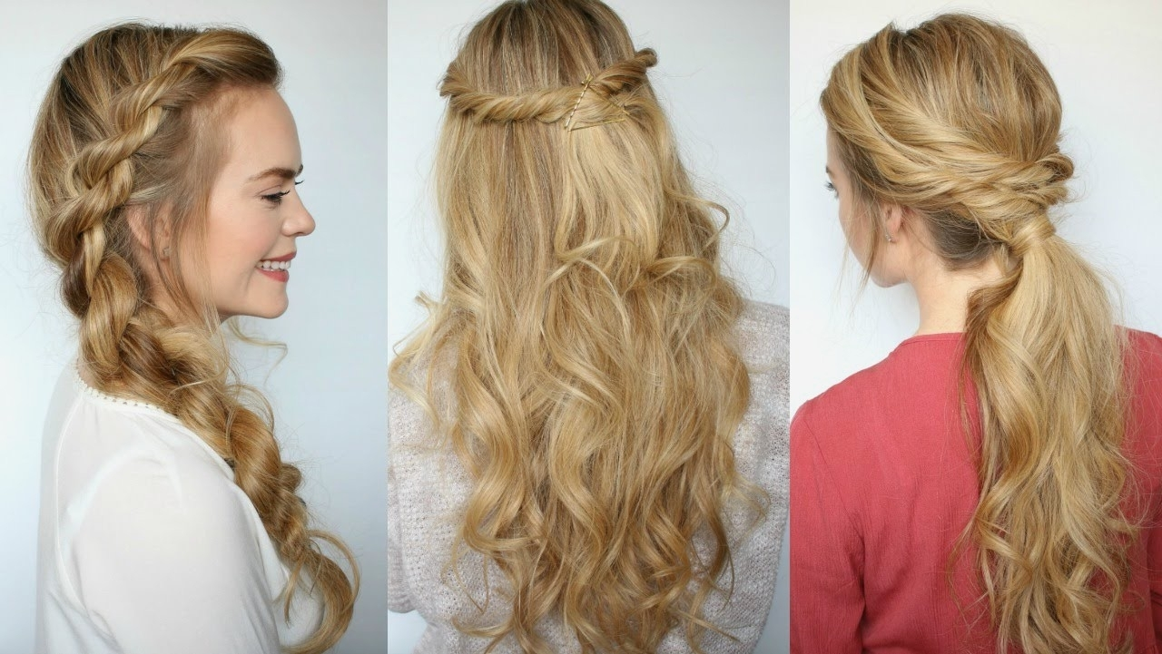 Popular Simple Braided Hairstyles Intended For Braid Hairstyles : Simple Braid Hairstyles Easy Image In Hairstyles (View 7 of 15)
