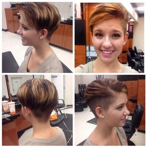 Popular Uneven Undercut Pixie Haircuts Pertaining To 33 Cool Short Pixie Haircuts For 2018 – Pretty Designs (View 10 of 15)