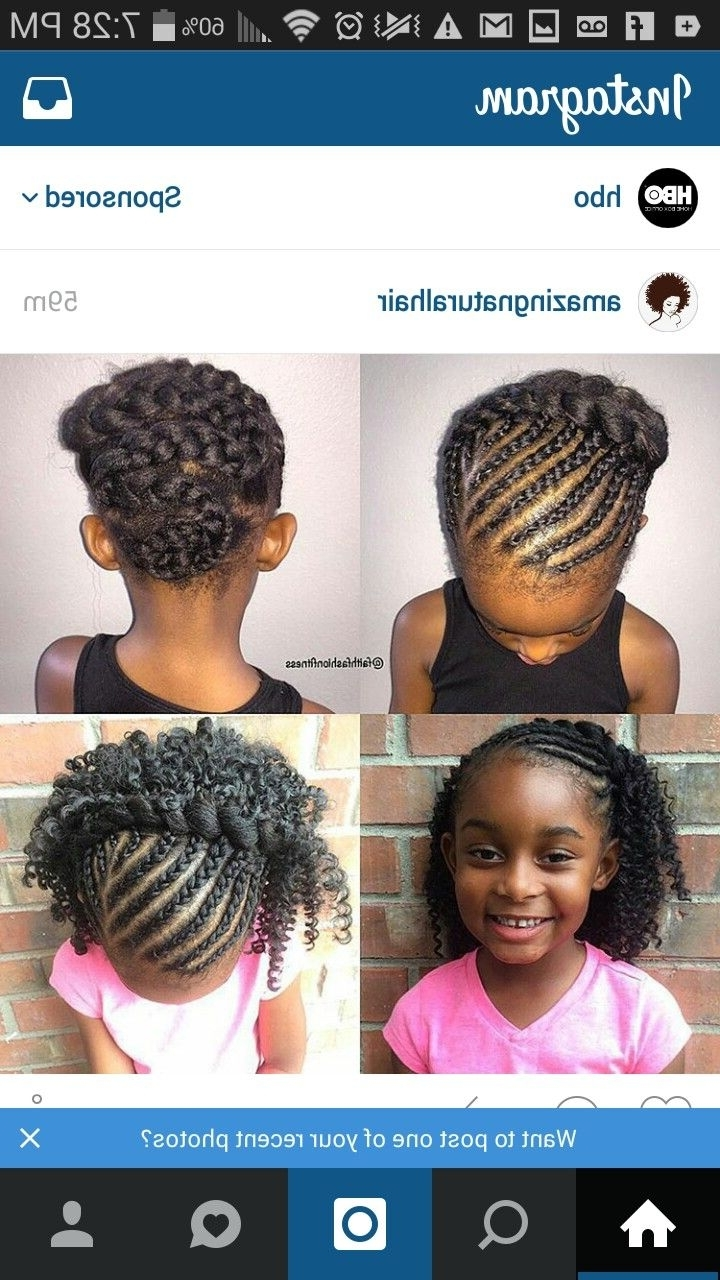 Popular Youthful Fulani Crown With Horizontal Braids In Pinmechele Brewington On Hair (View 10 of 15)