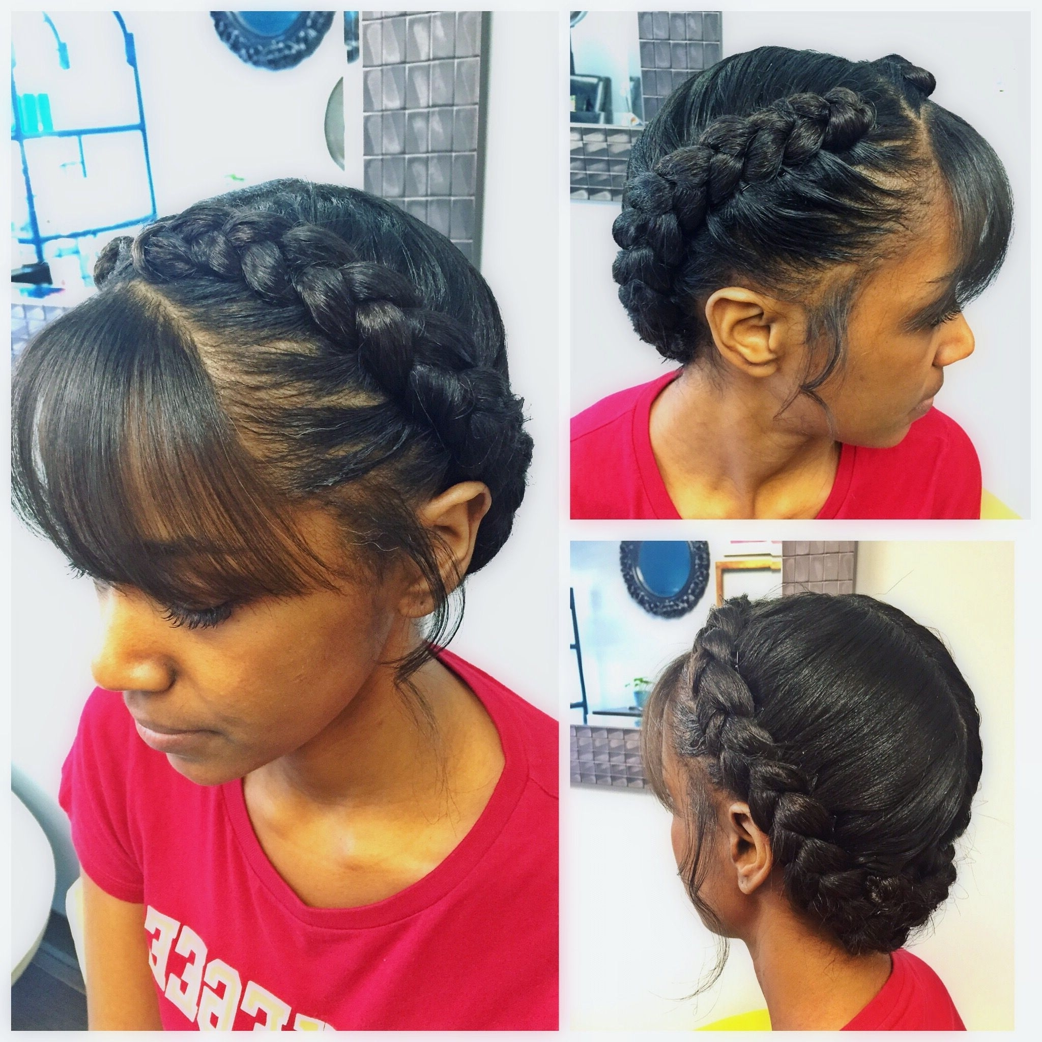 Preferred Braided Goddess Updo Hairstyles Inside Goddess Braid.soft And Dainty (View 6 of 15)