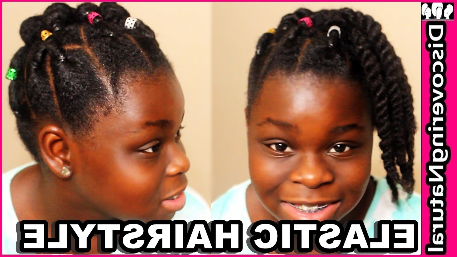 Preferred Elastic Cornrows Hairstyles Regarding Discoveringnatural: Cute Elastic Natural Hairstyles: Rubber Band (View 12 of 15)