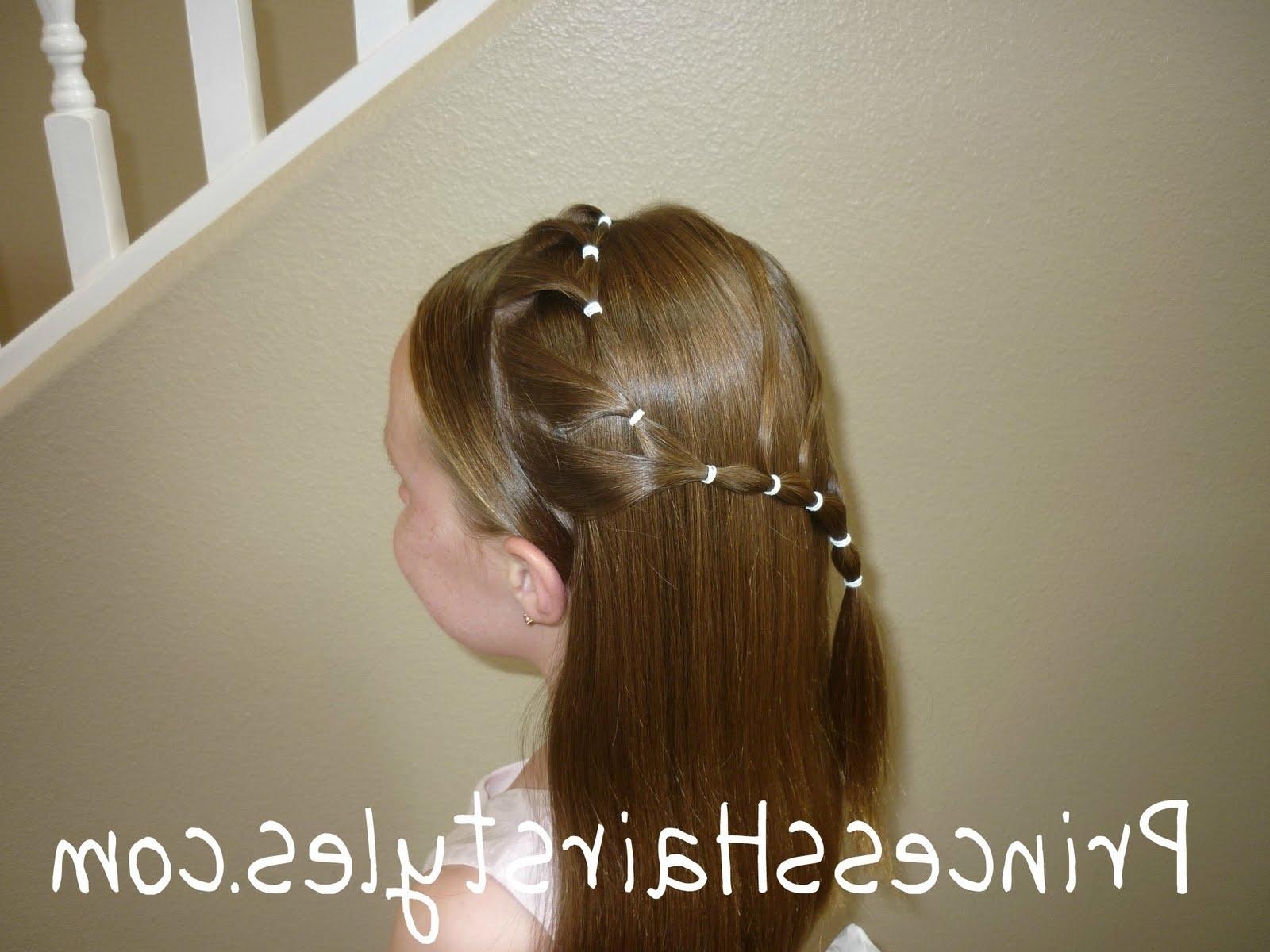 Preferred Long Curvy Braids Hairstyles Pertaining To Elastic Curvy Braid Hairstyle – Hairstyles For Girls – Princess (View 15 of 15)