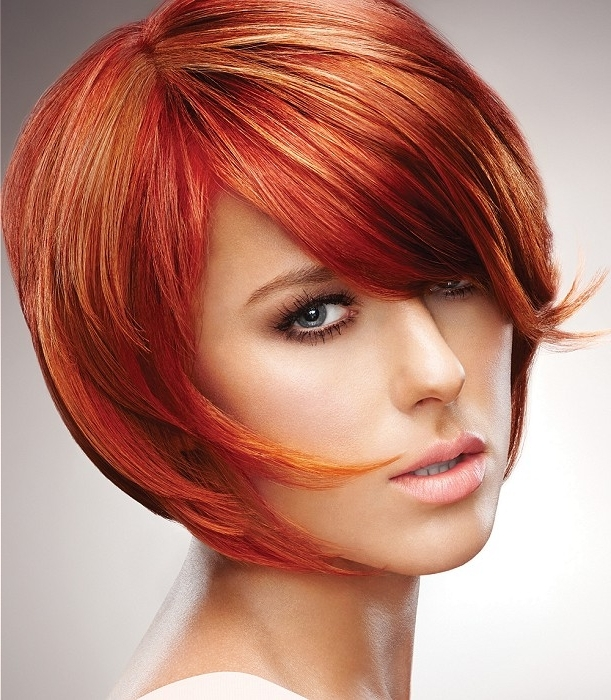 Preferred Shaggy Pixie Haircuts In Red Hues With Regard To Hairstyles For Long Faces (View 10 of 15)