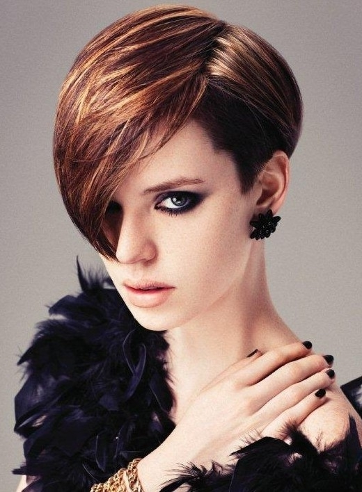 Preferred Short Choppy Side Parted Pixie Haircuts In 40+ Chic Short Haircuts: Popular Short Hairstyles For 2018 – Pretty (View 9 of 15)