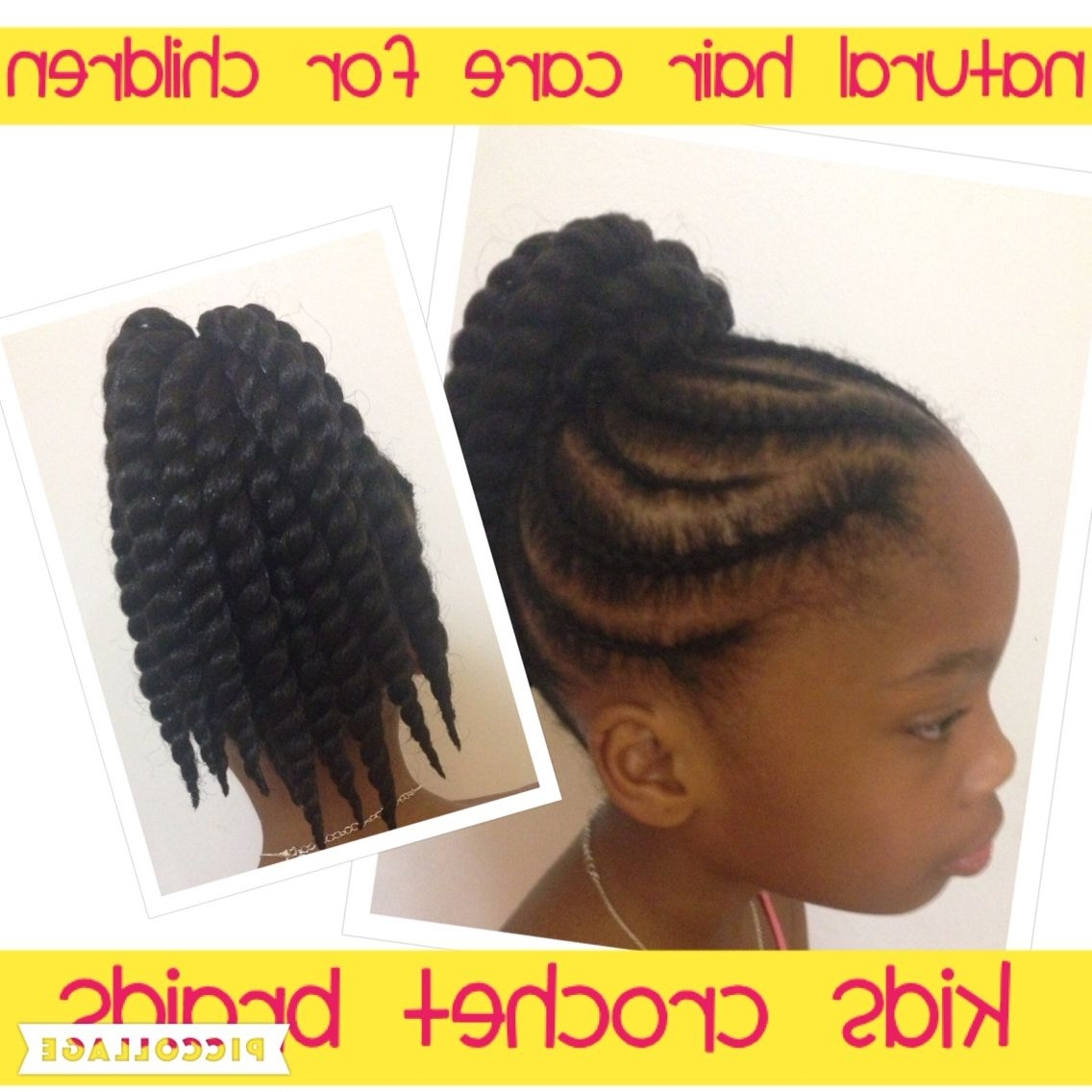 Preferred Youthful Fulani Crown With Horizontal Braids Intended For Crochet Braids For Kids Follow Me On Facebook @ Fb/childrenshair (View 11 of 15)
