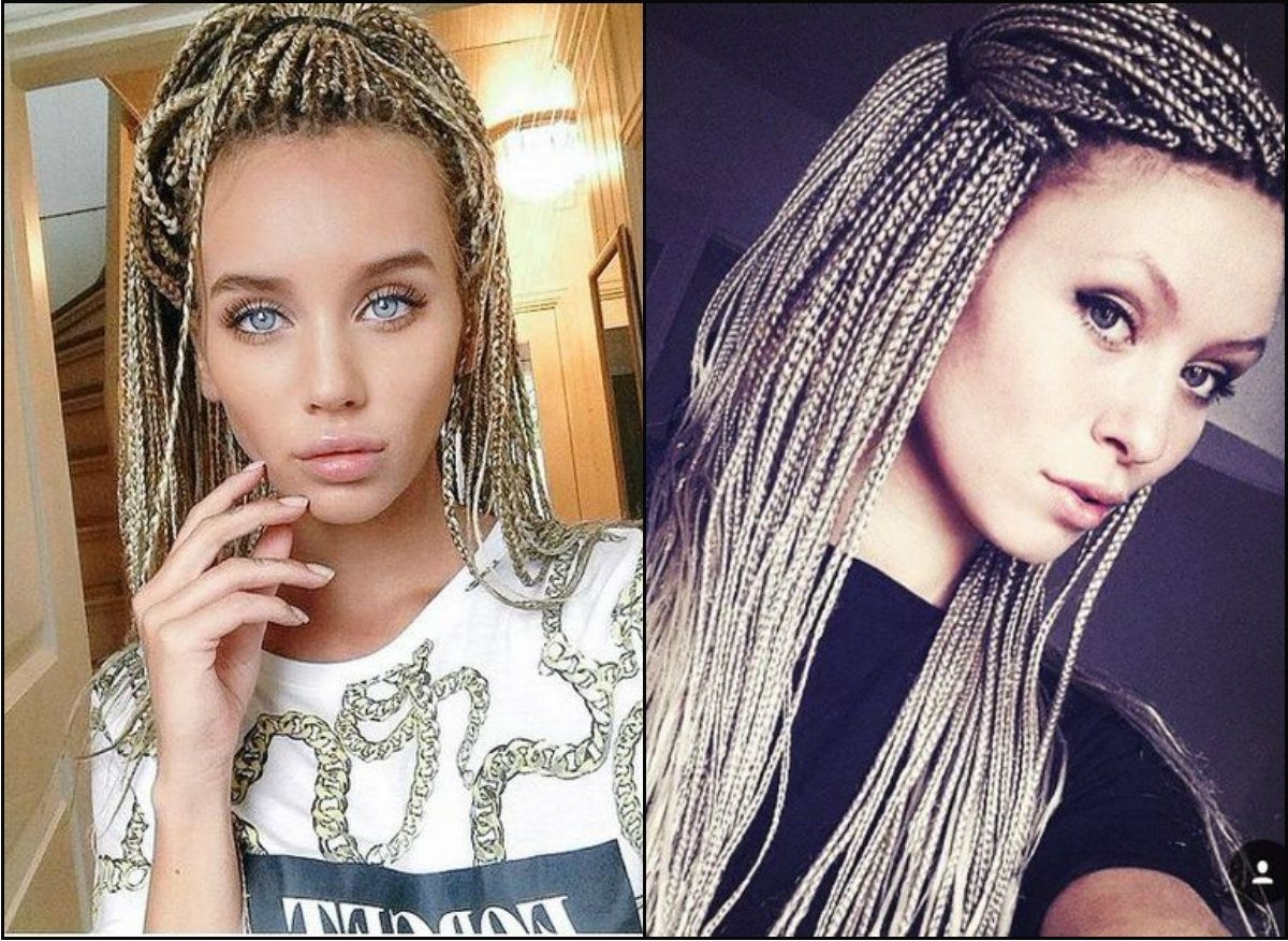 Pretty Hairstyles With Regard To Well Known Cornrows Hairstyles With White Color (View 9 of 15)