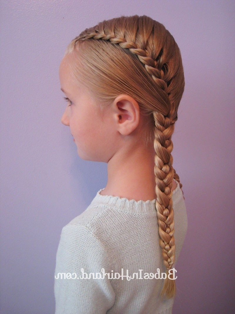 Pretty Pocahontas Braids – Babes In Hairland With Regard To Trendy Pocahontas Braids Hairstyles (View 2 of 15)