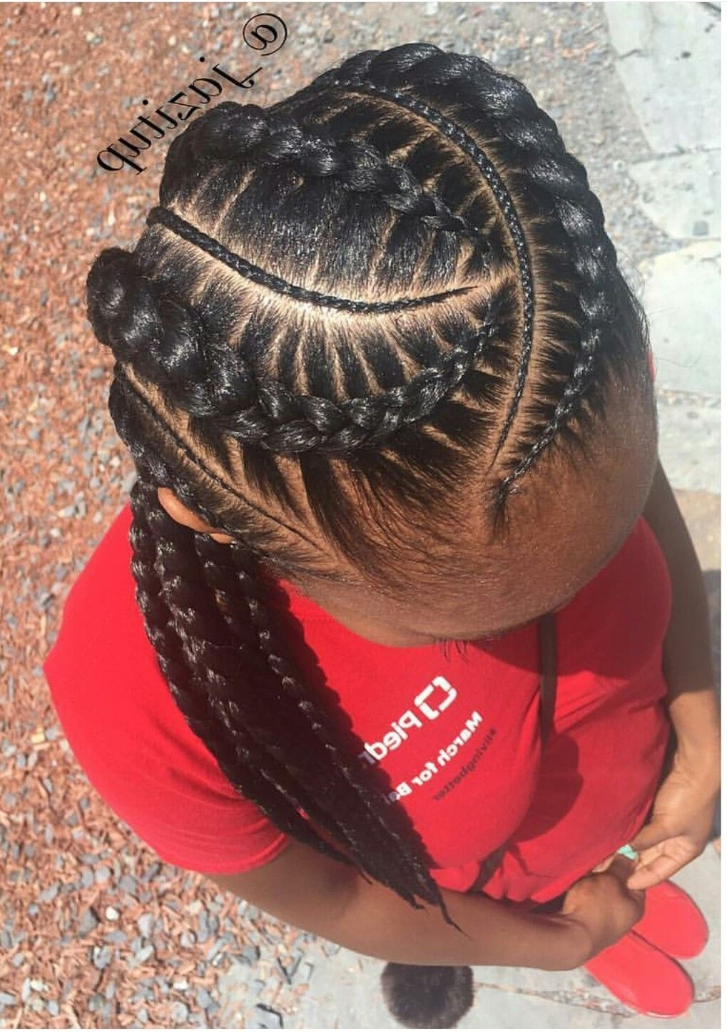 Princess Crown Braid: One Of The Best Updated Version For Teenage Pertaining To Well Liked Cornrows Hairstyles For School (View 14 of 15)