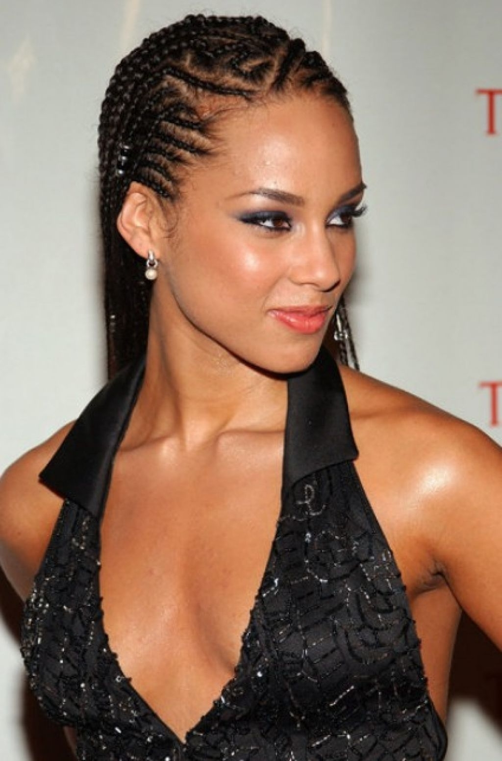 Prom Hairstyles For Long Hair Messy Braid Updo For Long Hair Prom With Famous Cornrows Prom Hairstyles (View 4 of 15)