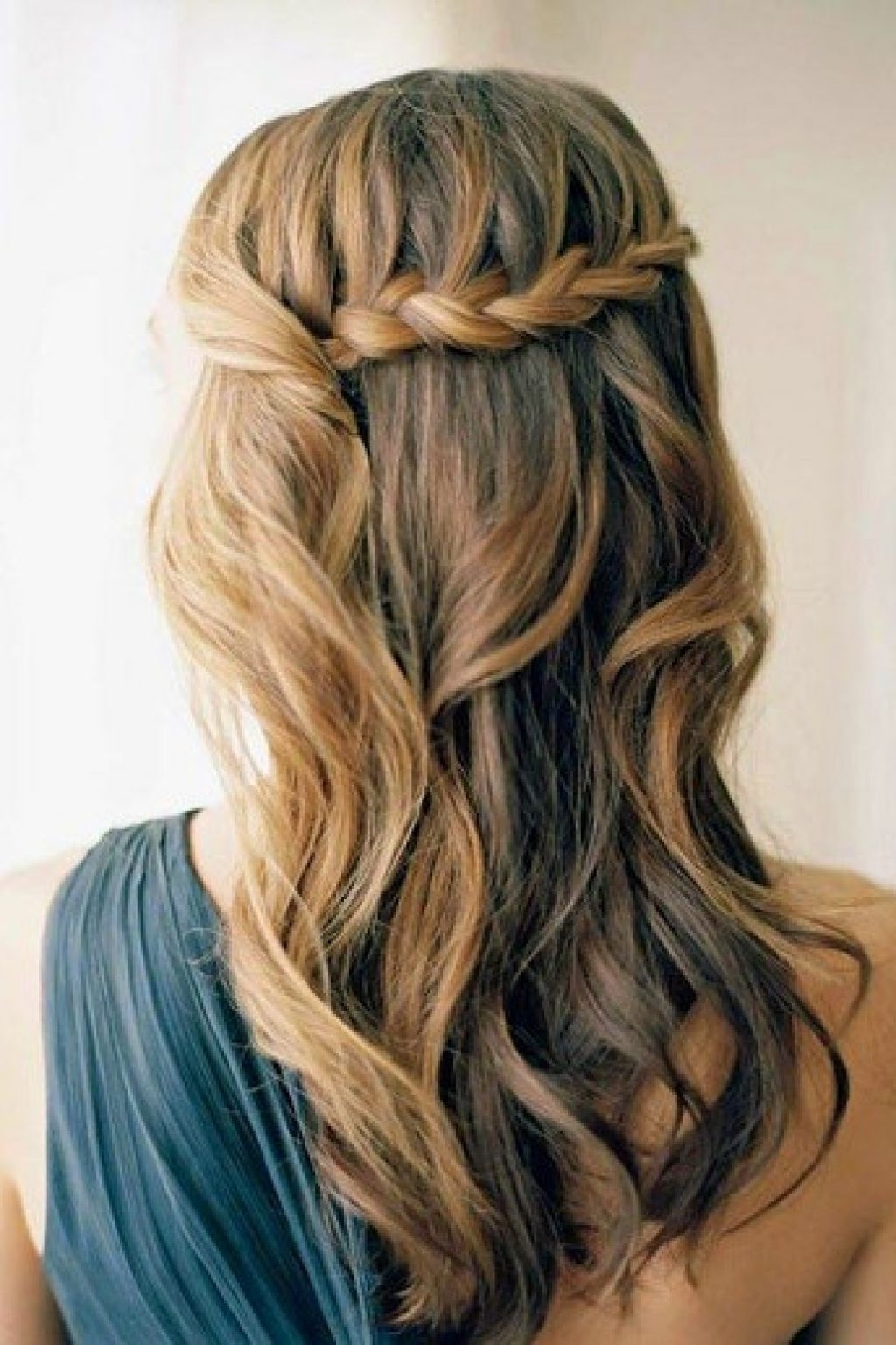 Prom Hairstyles Loosely Braided Messy Bun Tutorial Regarding Best And Newest Loosely Braided Hairstyles (View 13 of 15)