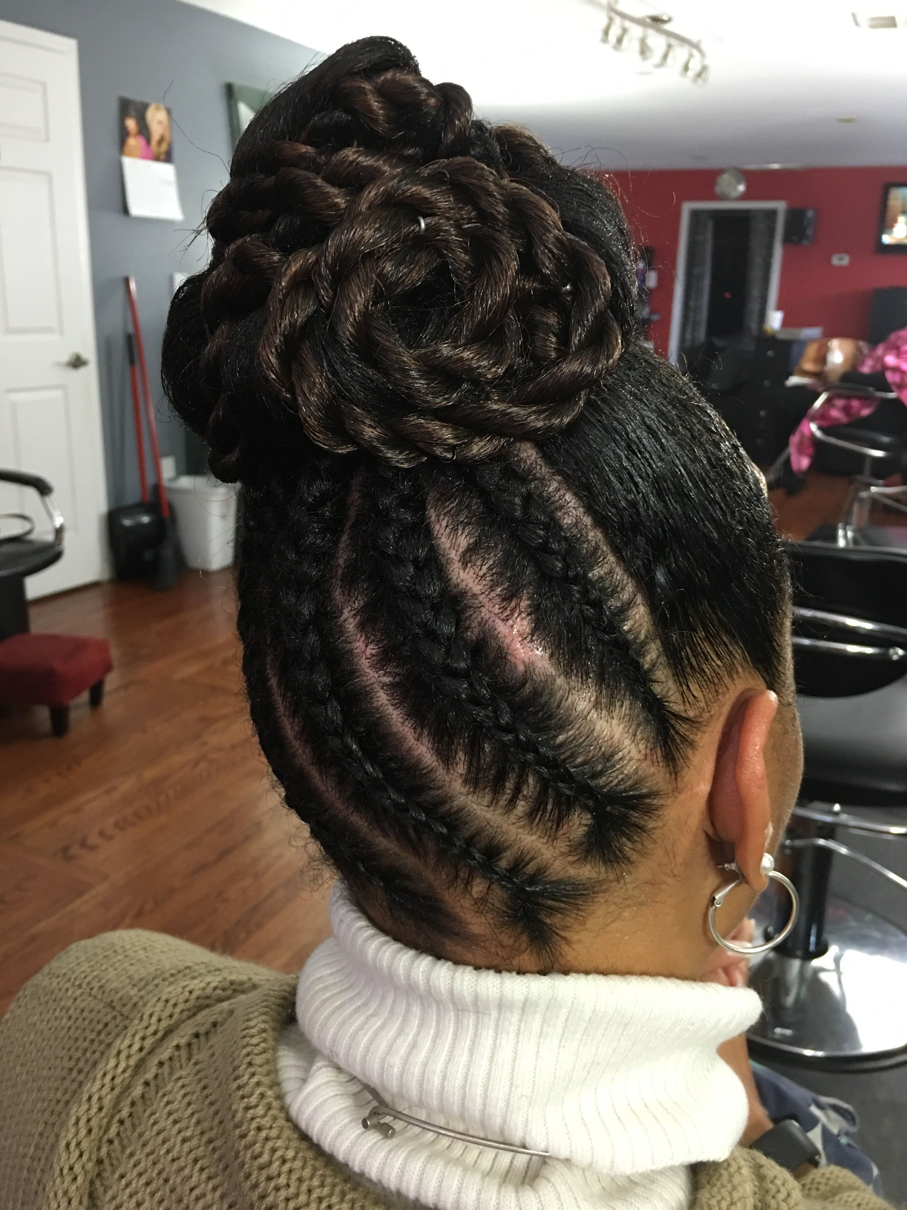 Protective Styles Pertaining To Favorite Crazy Cornrows Hairstyles (View 5 of 15)