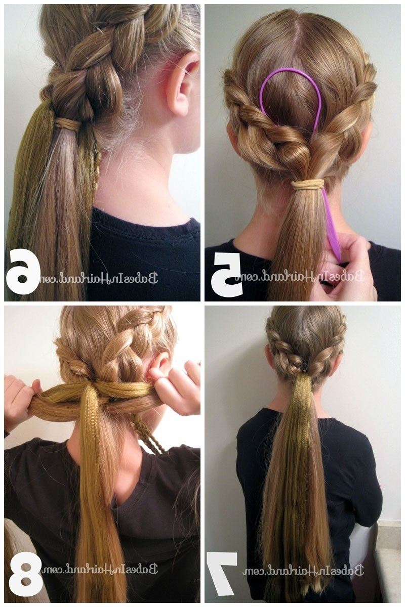 Rapunzel Hair Tutorial – Using Extensions – Babes In Hairland Throughout Most Current Rapunzel Braids Hairstyles (View 9 of 15)