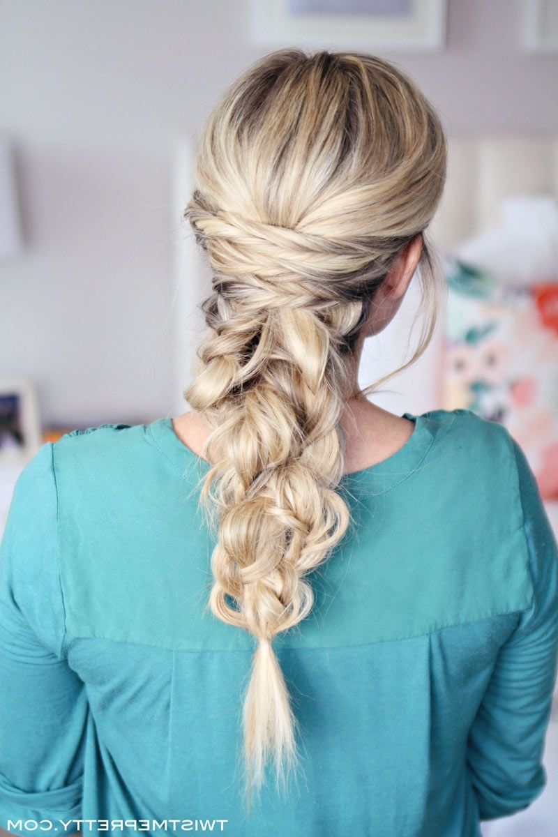 Recent Braided Glam Hairstyles Intended For Three Easy Hair Tutorials – Twist Me Pretty (View 11 of 15)