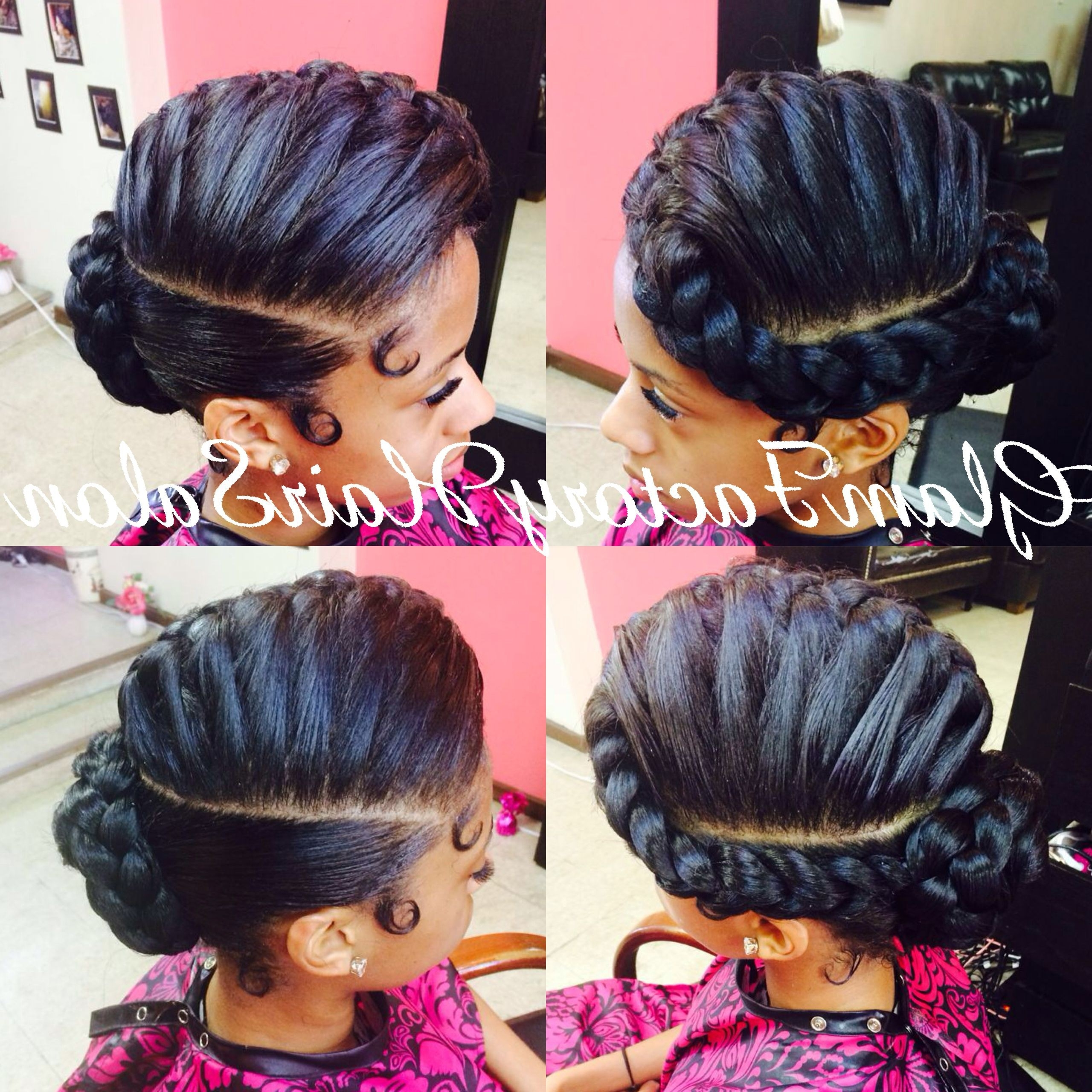 Recent Braided Goddess Updo Hairstyles Inside Unique Braided Pin Up Hairstyles – Hairstyles Ideas (View 13 of 15)