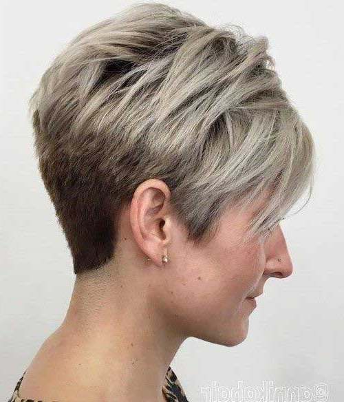 Recent Contemporary Pixie Haircuts Within Short And Modern Hairstyles For Stylish Ladies (View 12 of 15)