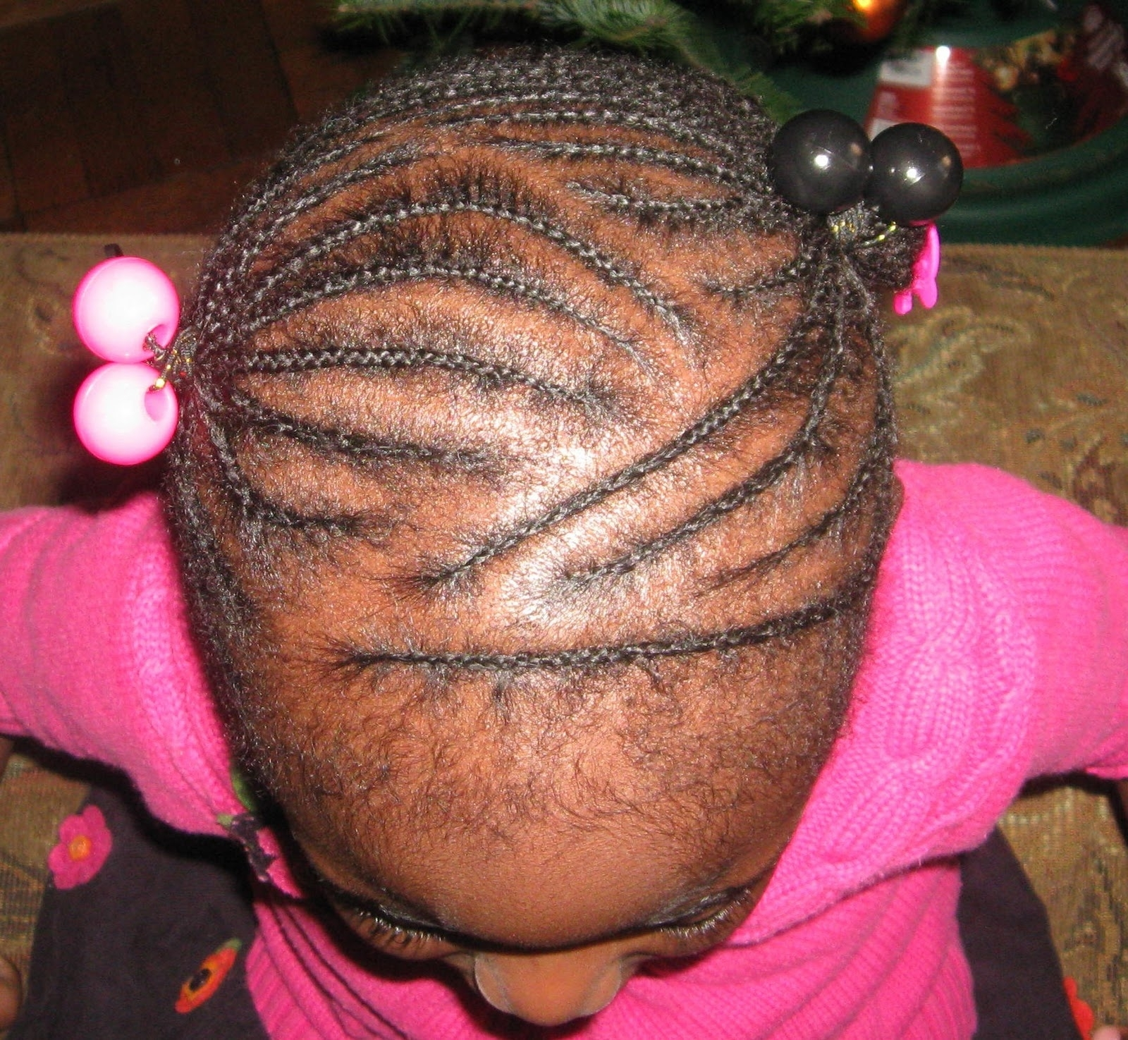 Recent Cornrows Hairstyles For Kids Within Frizz Free Mini Cornrows:kids' Style – Coilybella (View 14 of 15)