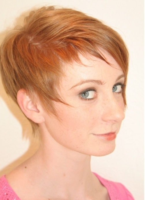Recent Finely Chopped Pixie Haircuts For Thin Hair For Pixie Haircut For Fine Hair: Cute Hairstyles – Popular Haircuts (Gallery 12 of 15)