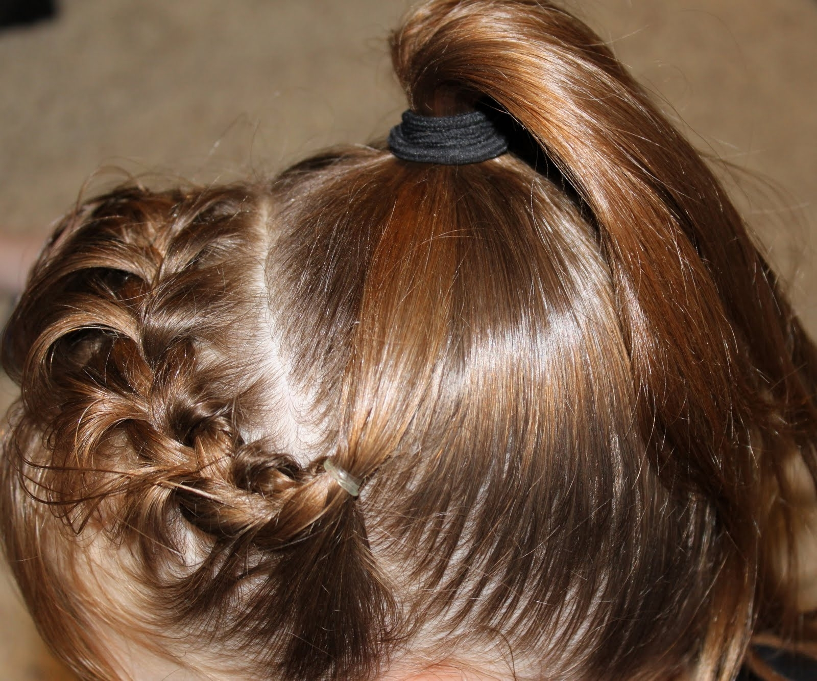 Recent French Braids Into Pigtails Intended For Hair And Fashion: French Braid Headband To Ponytail (View 12 of 15)