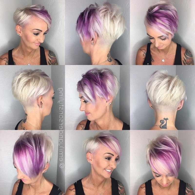 [%Recent Lavender Pixie Bob Haircuts Intended For 25 Edgy Pixie Undercut Ideas To Try Right Now! [August, 2018]|25 Edgy Pixie Undercut Ideas To Try Right Now! [August, 2018] Within Famous Lavender Pixie Bob Haircuts%] (View 1 of 15)