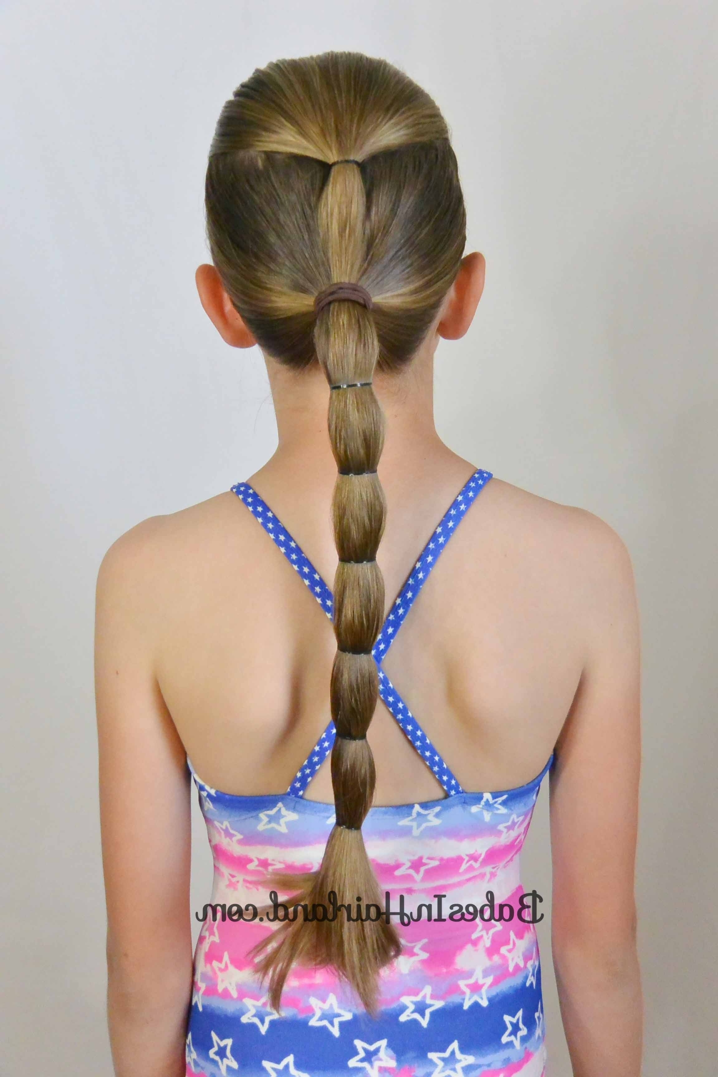 Recent Pair Of Braids With Wrapped Ponytail With Regard To 10+ No Fuss Hairstyles For Summer Or The Pool – Babes In Hairland (Gallery 12 of 15)