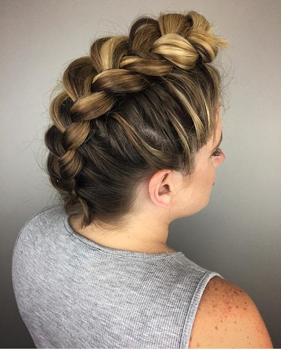 Recent Reverse Braid Mohawk Hairstyles In 73 Likes, 5 Comments – Nyc Colorist (@lisameshel) On Instagram (Gallery 13 of 15)