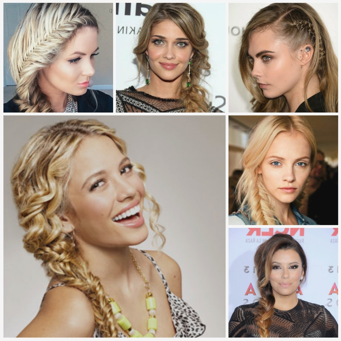 Recent Side Braid Hairstyles For Medium Hair Throughout Hottest Side Braid Hairstyles For Long Hair (View 5 of 15)