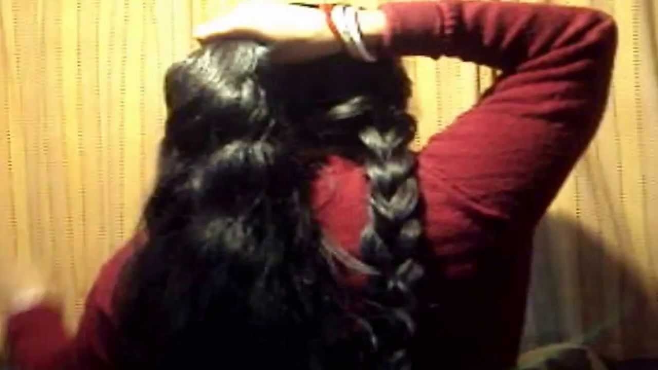 Recent Two Extra Long Braids In The Indian Long Hair: How To Make Two Long Braid In Your Hair – Youtube (Gallery 13 of 15)