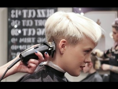 Recent Undercut Pixie Regarding Undercut Pixie / How I Get My Haircut! – Youtube (View 11 of 15)