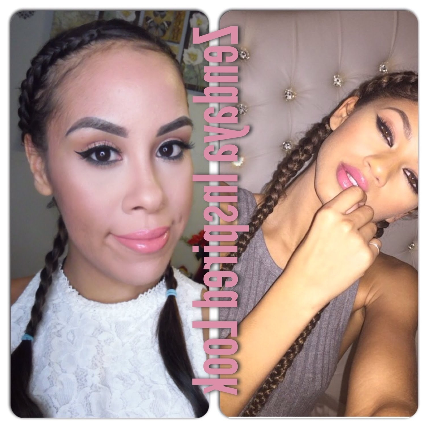 Recent Zendaya Braided Hairstyles Regarding Zendaya Inspired Look – Youtube (Gallery 5 of 15)