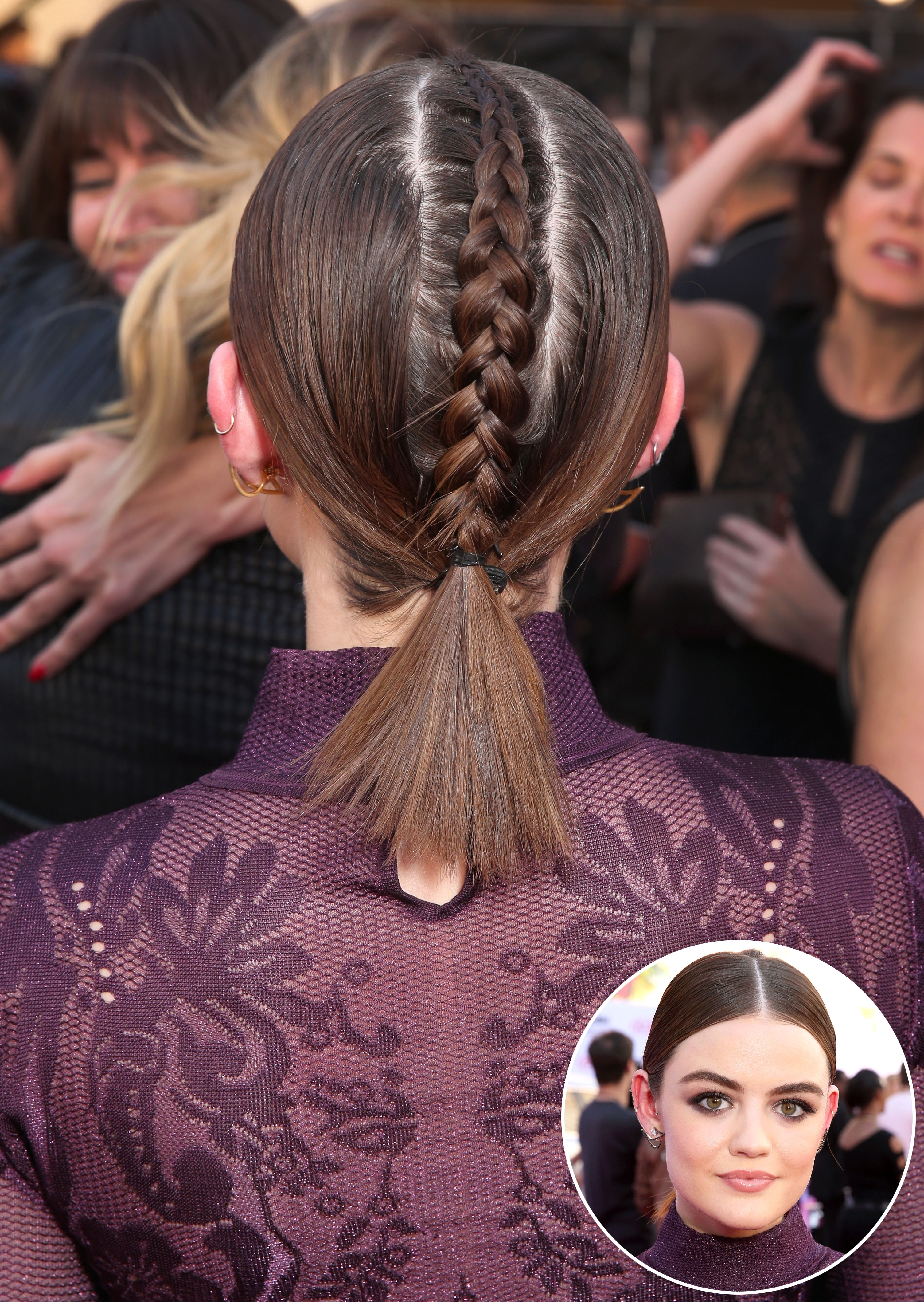Red Carpet Braided Hairstyles To Try For Summer 2016: Photos With Most Current Artistically Undone Braid Hairstyles (View 9 of 15)